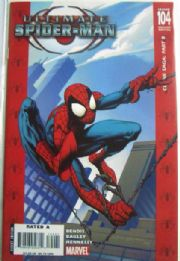 Ultimate Spider-man #104 Red Retail Incentive Variant 1:50 Marvel comic book
